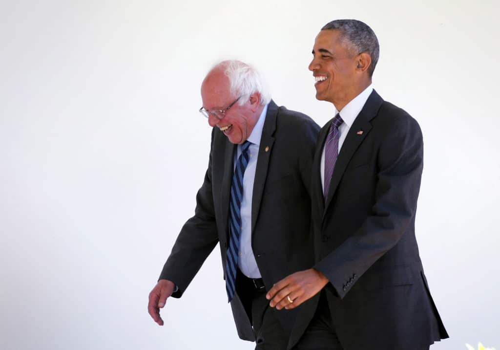 Report: Obama Thinks Sanders is Unfit to Take on Trump in 2020