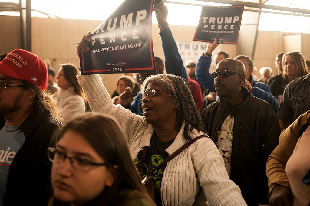 Poll: Trump's Support Among Black Voters Has Doubled Since Last Year