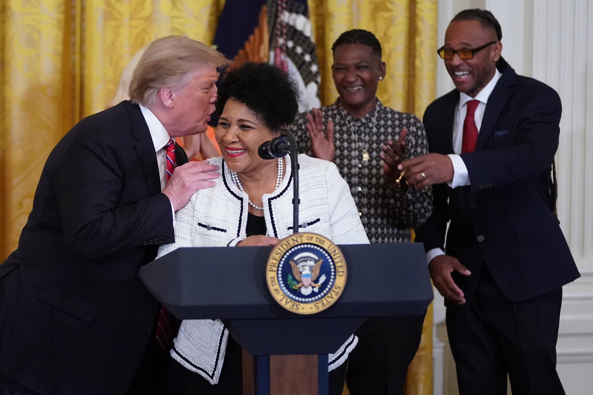 Democrats Panic as Trump Popularity Increases Among Black Voters