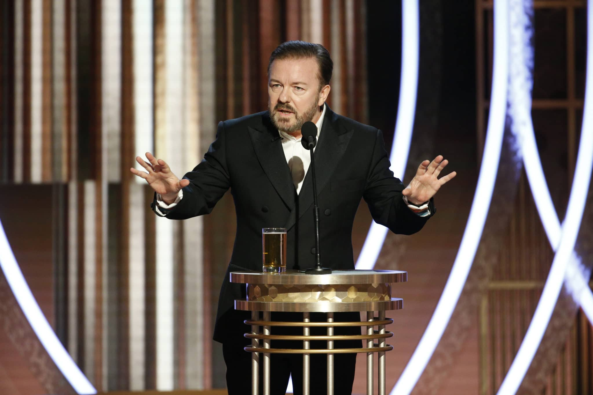He's Back: Ricky Gervais RIPS Self-Righteous Celebs Before Academy Awards Show