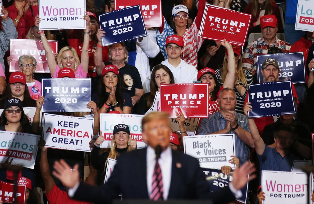 Trump Plans On Restarting Rallies
