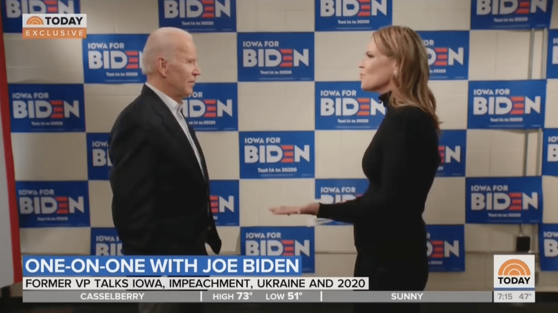 Watch: Biden SNAPS at NBC Host After they Asked About Hunter, Burisma