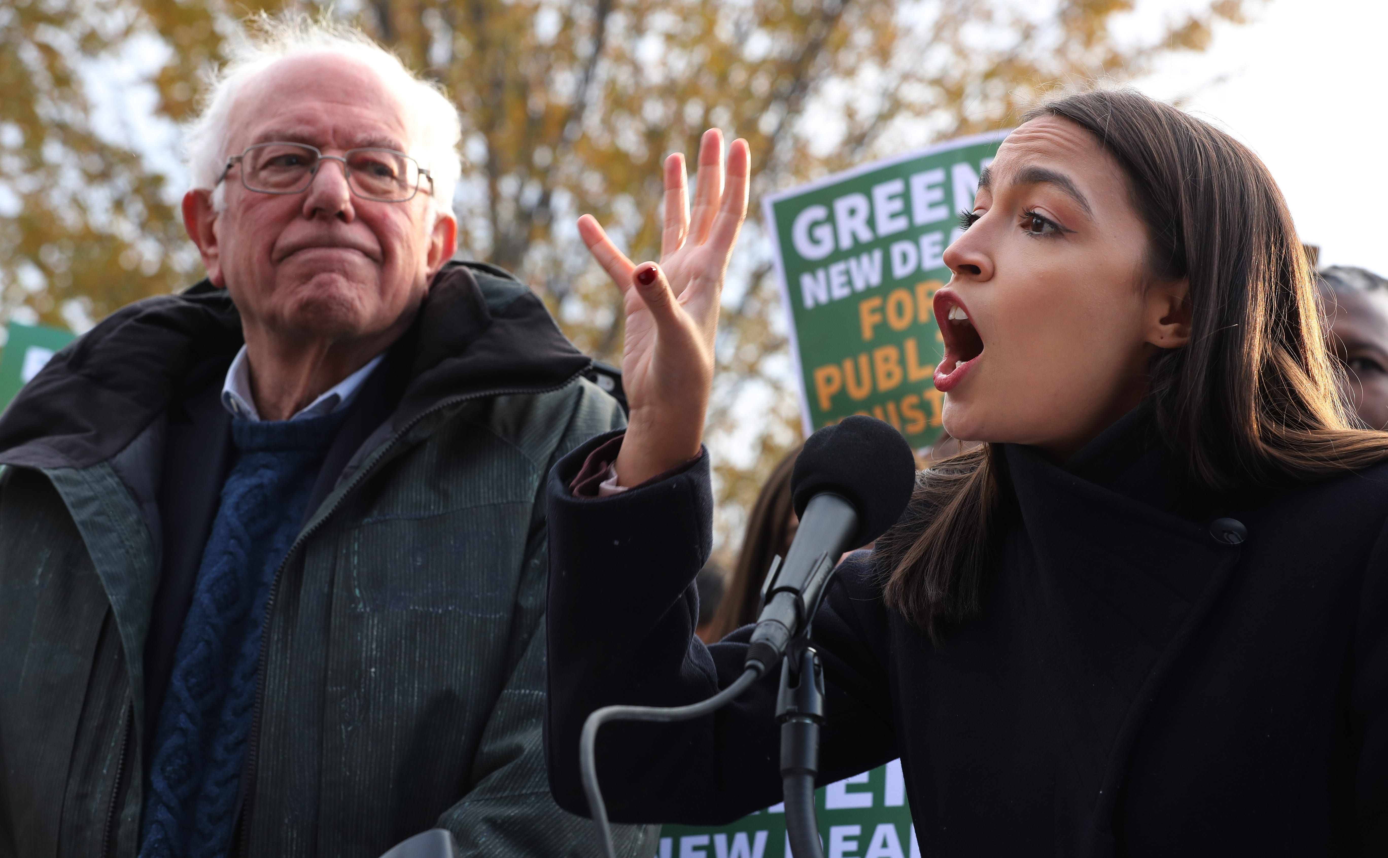 "AOC: ""Rampant Voter Suppression"" to Blame for Bernie Sanders Crushing Losses to Biden"