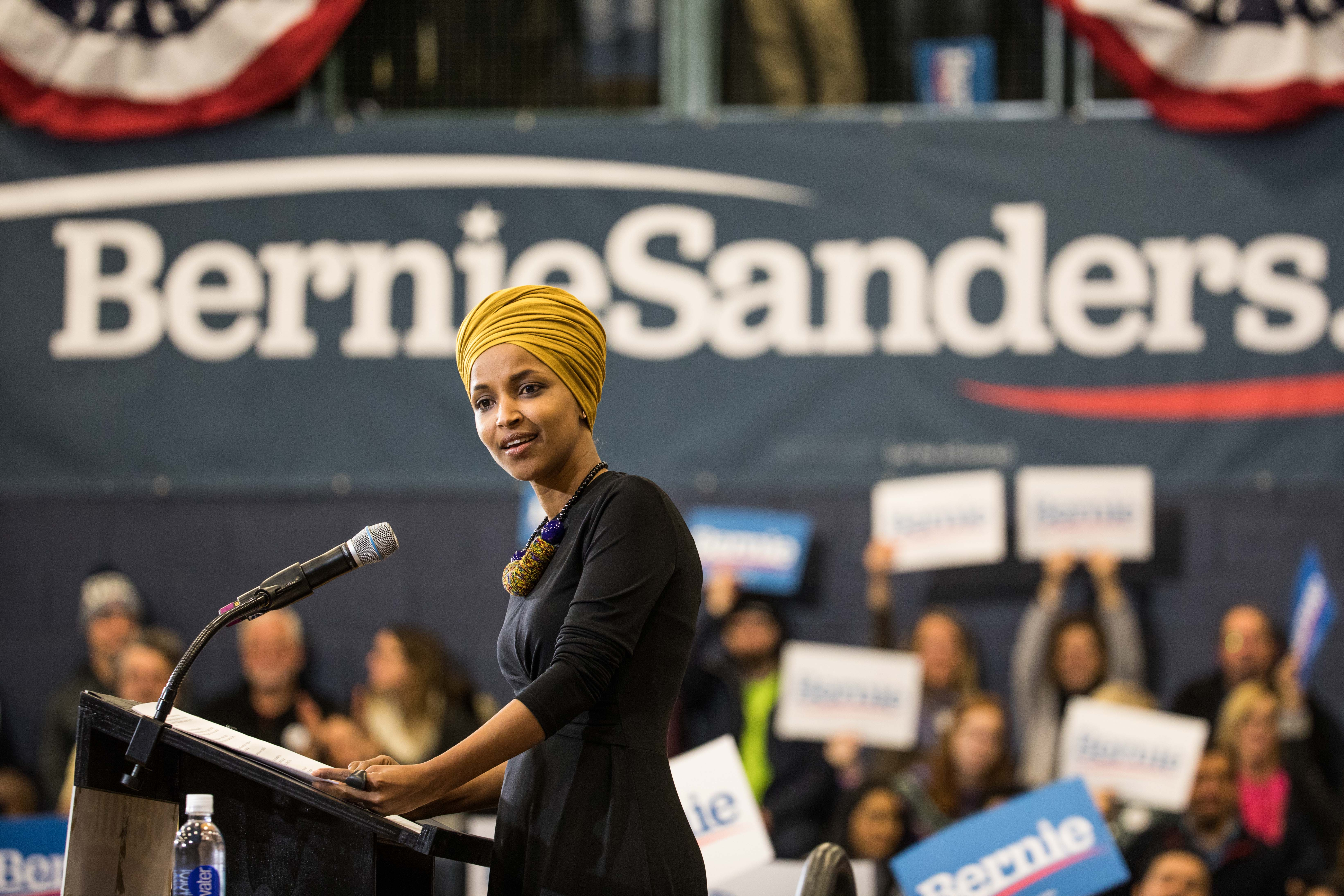 Democrat Infighting Continues: Ilhan Omar Implies Warren Should Drop Out to Help Sanders