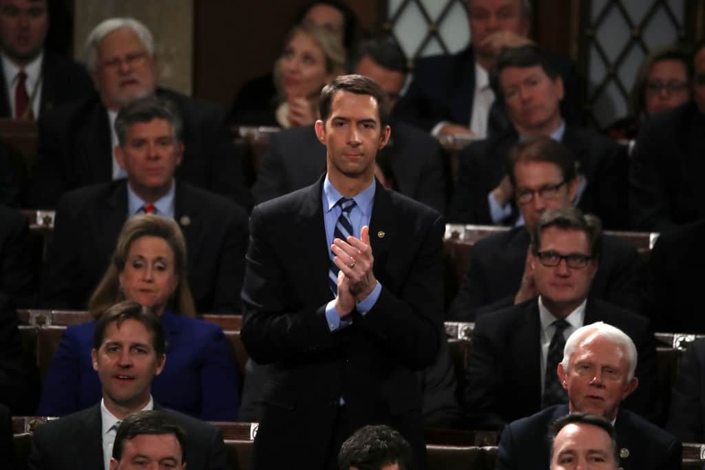 Senator Tom Cotton: NBA's Leverage Over China Larger Than Any Other Industry's