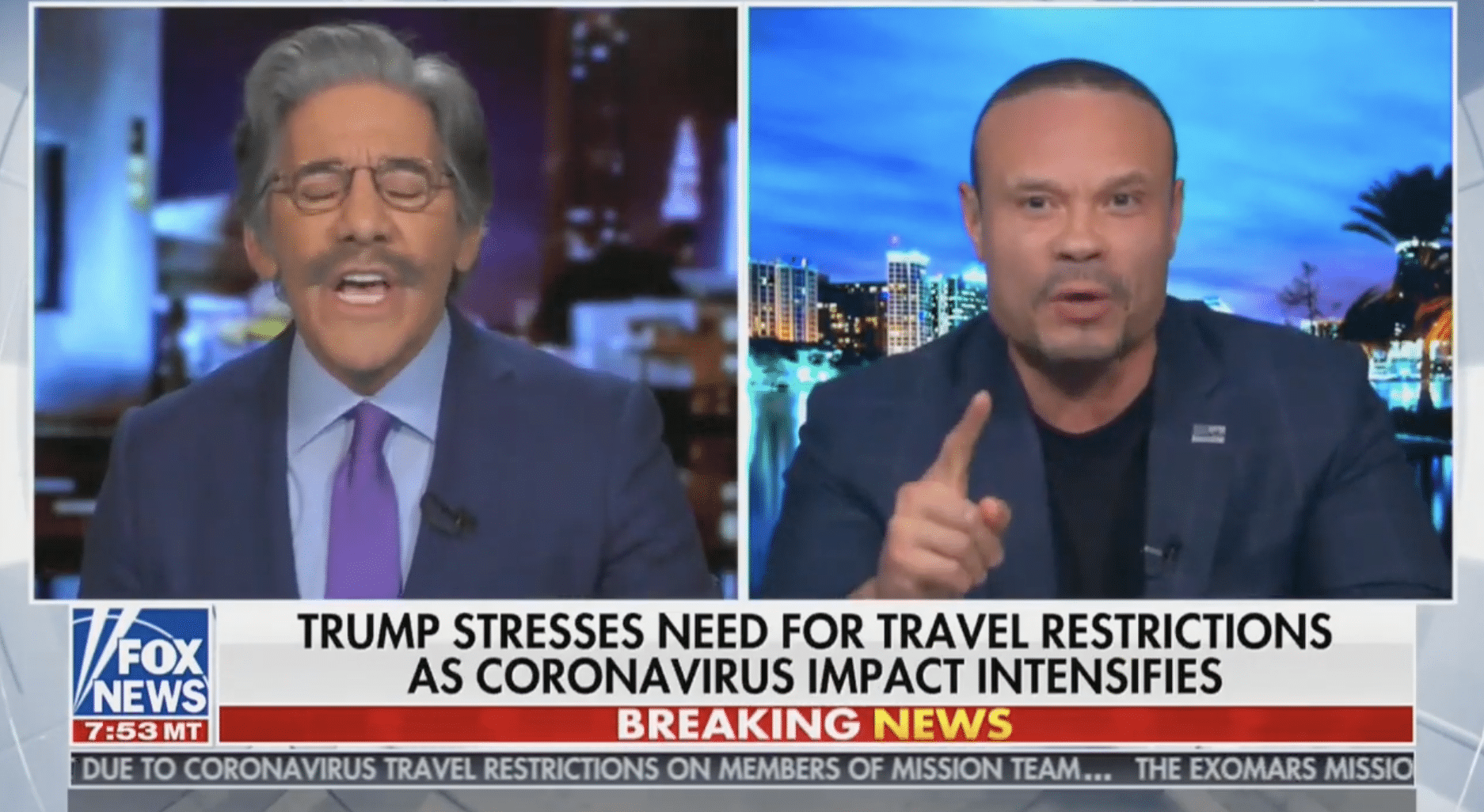 "Watch Dan Bongino SLAM Geraldo in Fiery Debate: ""You're Repeating Chinese Propaganda!"""