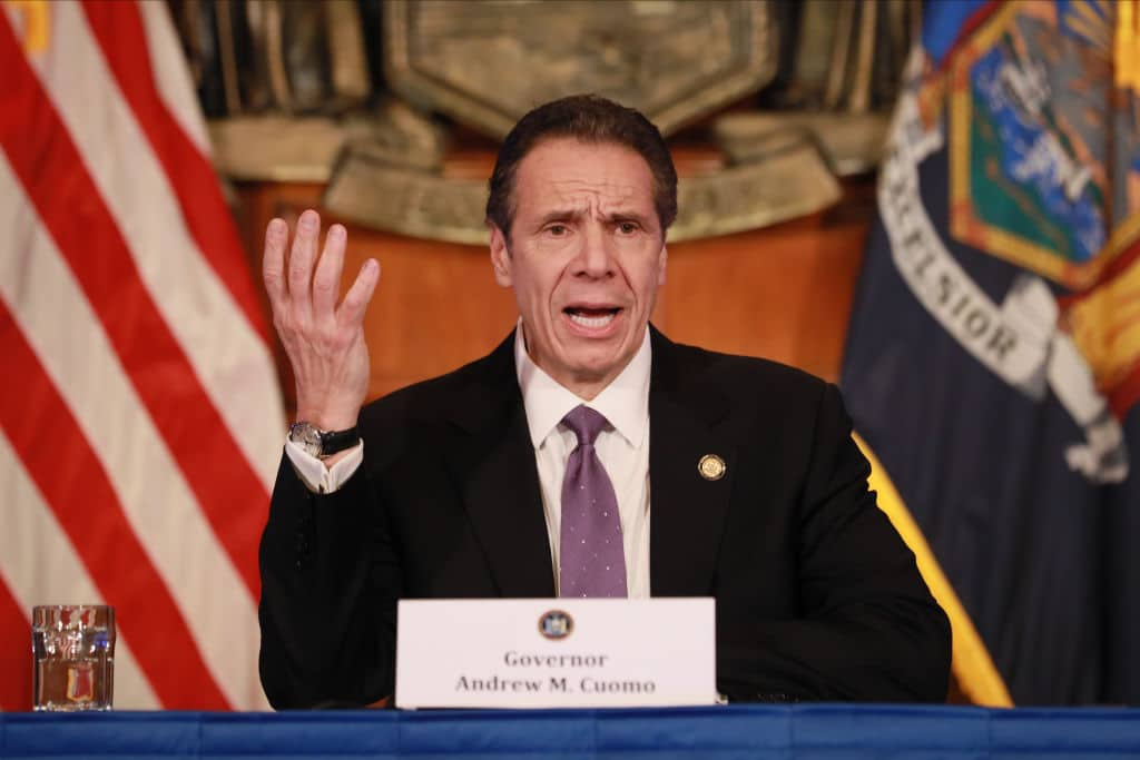 After Allowing Mass Protests, Cuomo Says Large Crowds Are Obstacle to Reopening