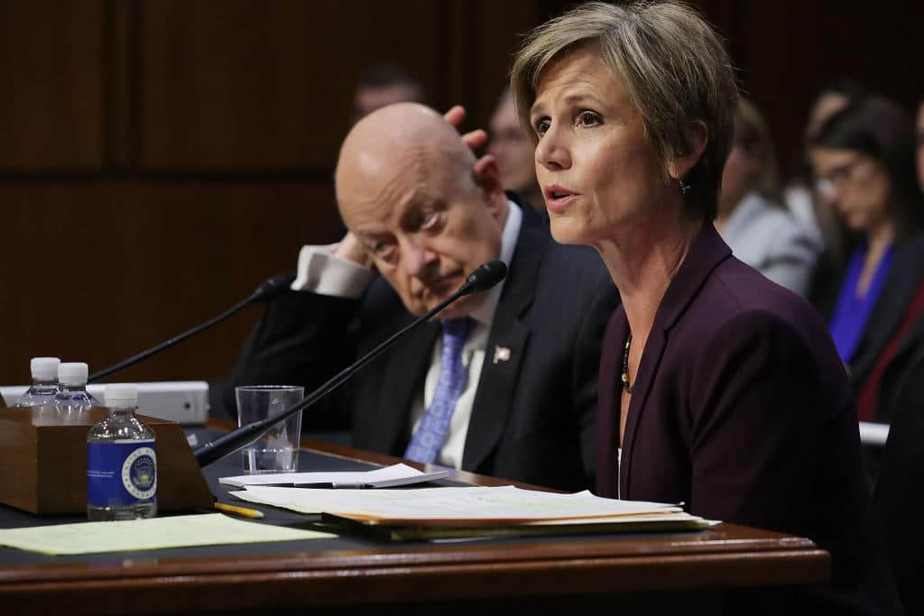 Newly Unsealed Flynn Documents Prove Trump Was Right to Fire Sally Yates