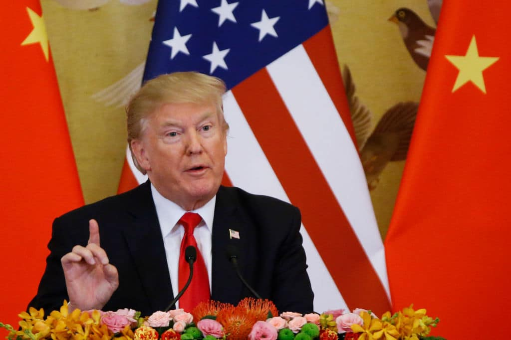 President Trump Cut Aid to China in Half