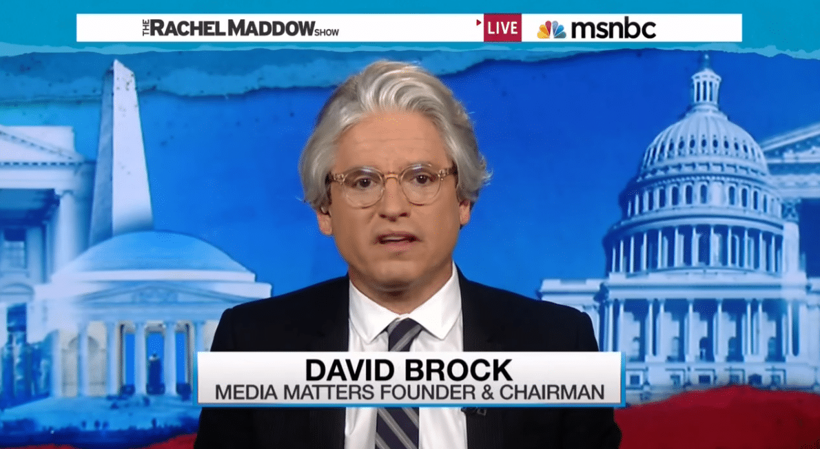 Media Matters Founder Accused of Illegally Profiting From Non-Profit Group