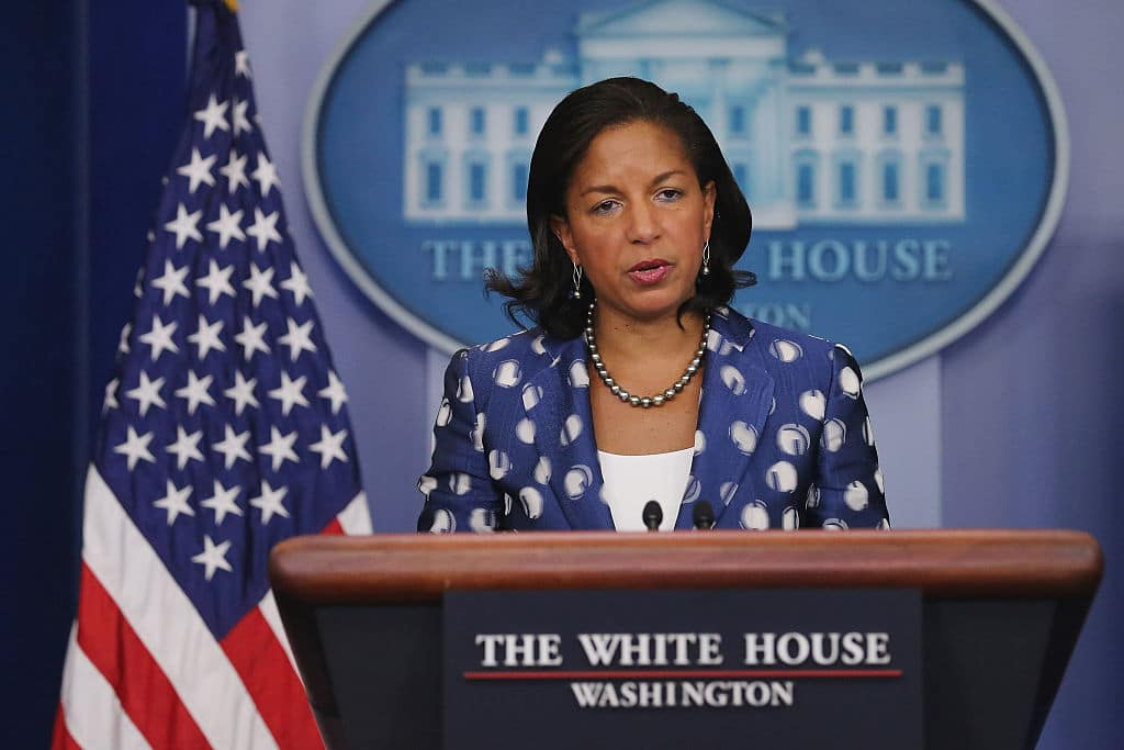 Susan Rice Claims Russians Behind Nationwide Riots