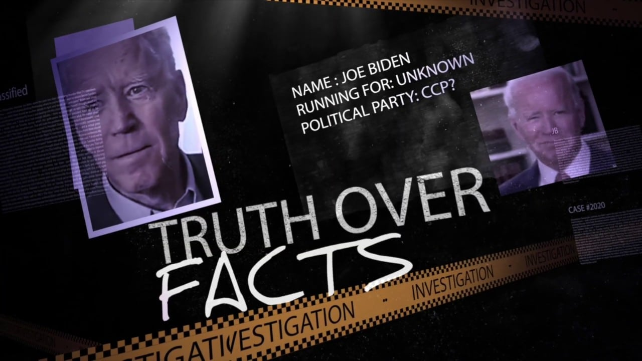 "Leftist ""Journalists"" Attack Trump Campaign for 'Truth Over Facts' Website, Not Realizing It's Parody of Biden Gaffe"