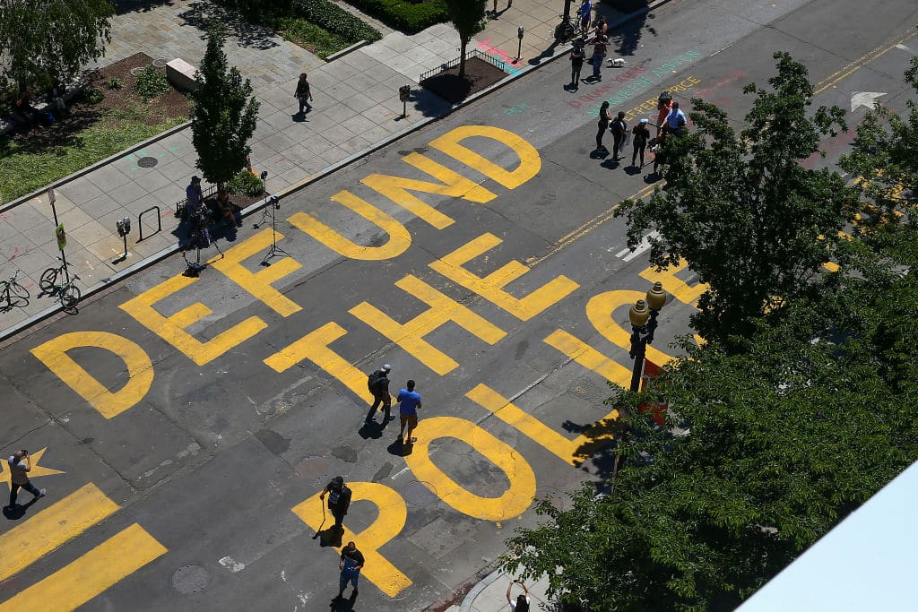 "Poll: Nearly Everyone Thinks ""Defund the Police"" Is Insane"