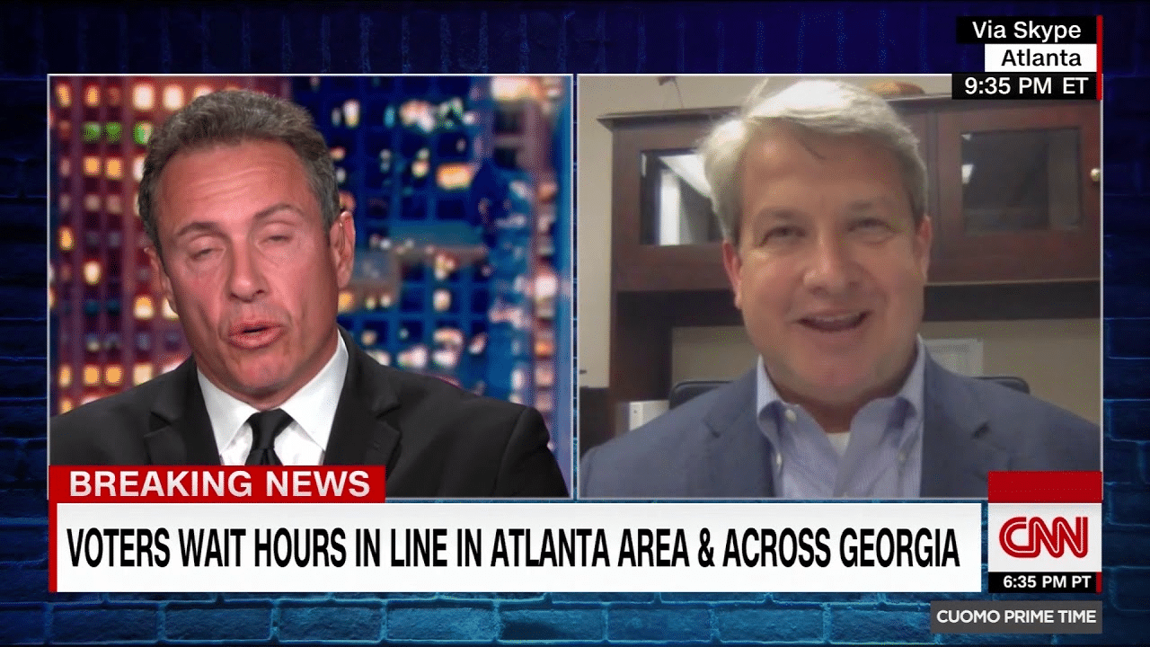 CNN's Fredo Gets Schooled on Supposed Voter Suppression in Georgia