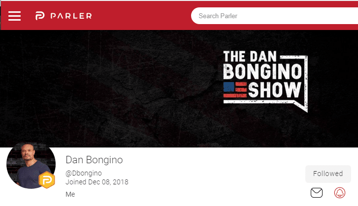 Dan Bongino Announces Partnership With Parler