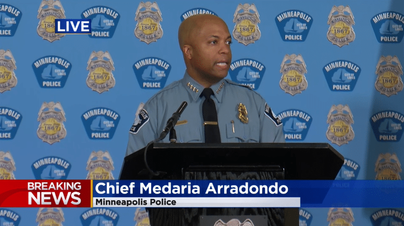 Minneapolis Police Chief: I Will Not Abandon My Obligation to Protect
