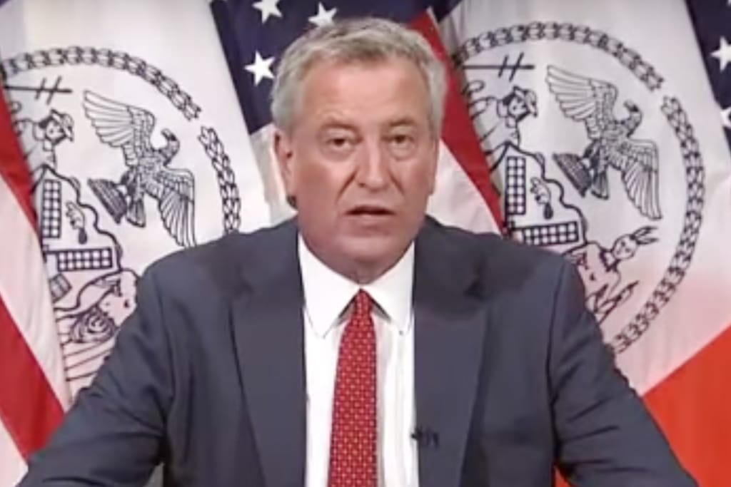 NY Attorney General Plan Would Strip Mayor De Blasio's Authority Over NYPD