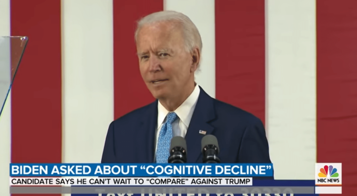 Biden Claims He Constantly Takes Cognitive Tests – His Campaign Won't Provide Evidence