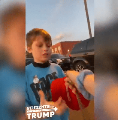 Biden Supporters Allegedly Attack 7-Year-Old Wearing MAGA Hat Outside DNC