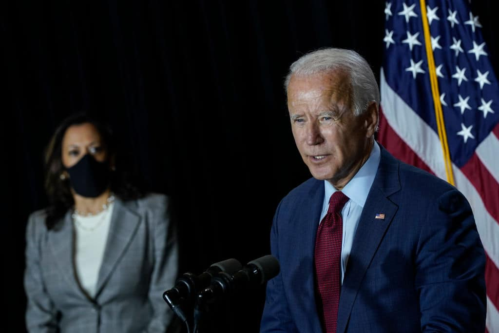 In Accepting Democrat Nomination, Joe Biden Parrots the Charlottesville Lie