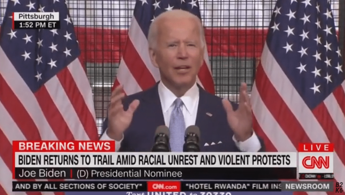 Biden Attempts to Speak Complete Sentences With Mixed Results