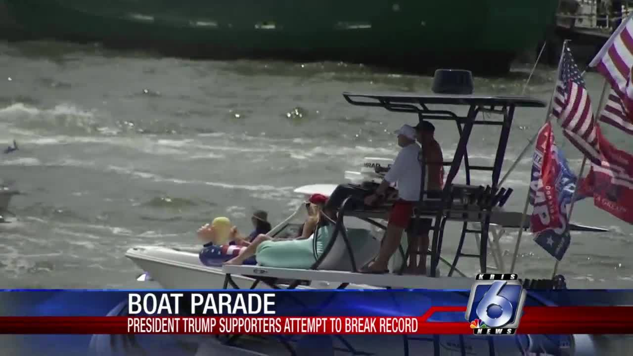 Pro-Trump Boat Parade Sets World Record for Largest Boat Parade Ever