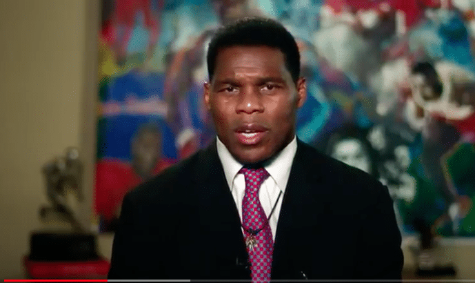 "Herschel Walker Slams BLM As ""Anti-American,"" ""Anti-Christian"""