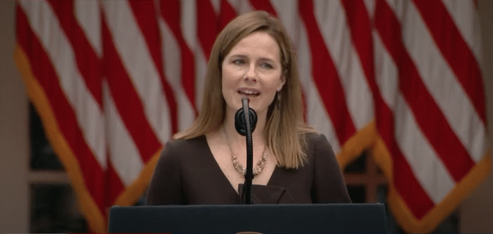 President Trump Nominates Amy Coney Barrett to Replace Ginsburg
