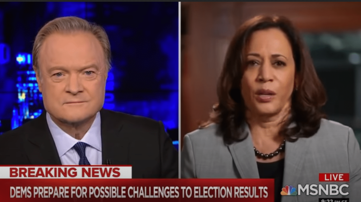 Kamala Harris Refuses to Say If She Supports Packing the Supreme Court