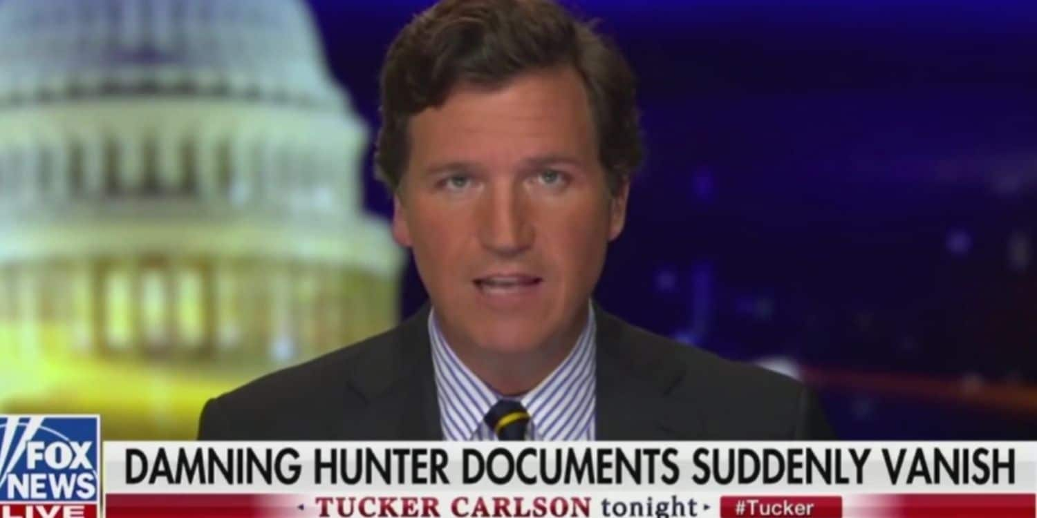 Into Thin Air: Confidential Biden Family Documents Sent to Tucker Carlson Go Missing  Update: Documents Recovered