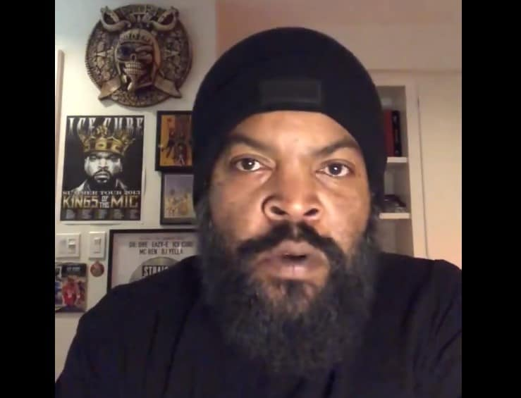 "Ice Cube Comments on Working With the Trump Admin on a ""Platinum Plan"" for Black Americans"