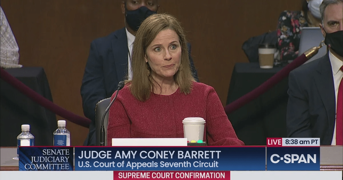 After Hearings, Majority of Americans Now Support Confirmation of Amy Coney Barrett