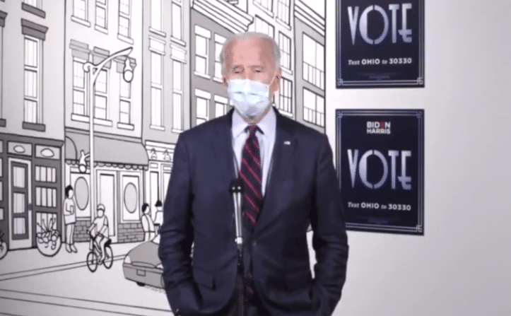 "Truthful Gaffe: Biden Says 56% of Americans ""Probably Shouldn't"" Vote for Him"