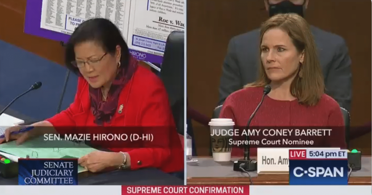 "Oppression Olympics: Sen. Hirono Complains Term ""Sexual Preference"" Is Offensive"