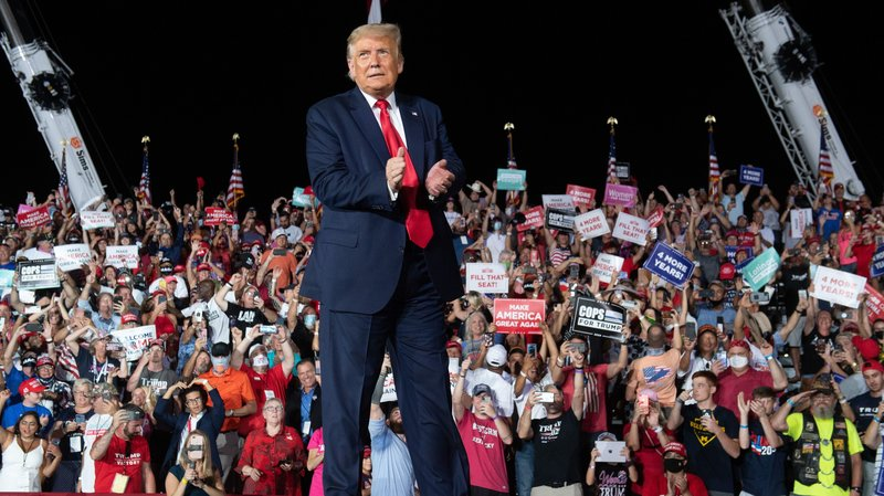 President Trump's Florida Rally: 16% of Attendees Were Democrats, 24% Didn't Vote in 2016