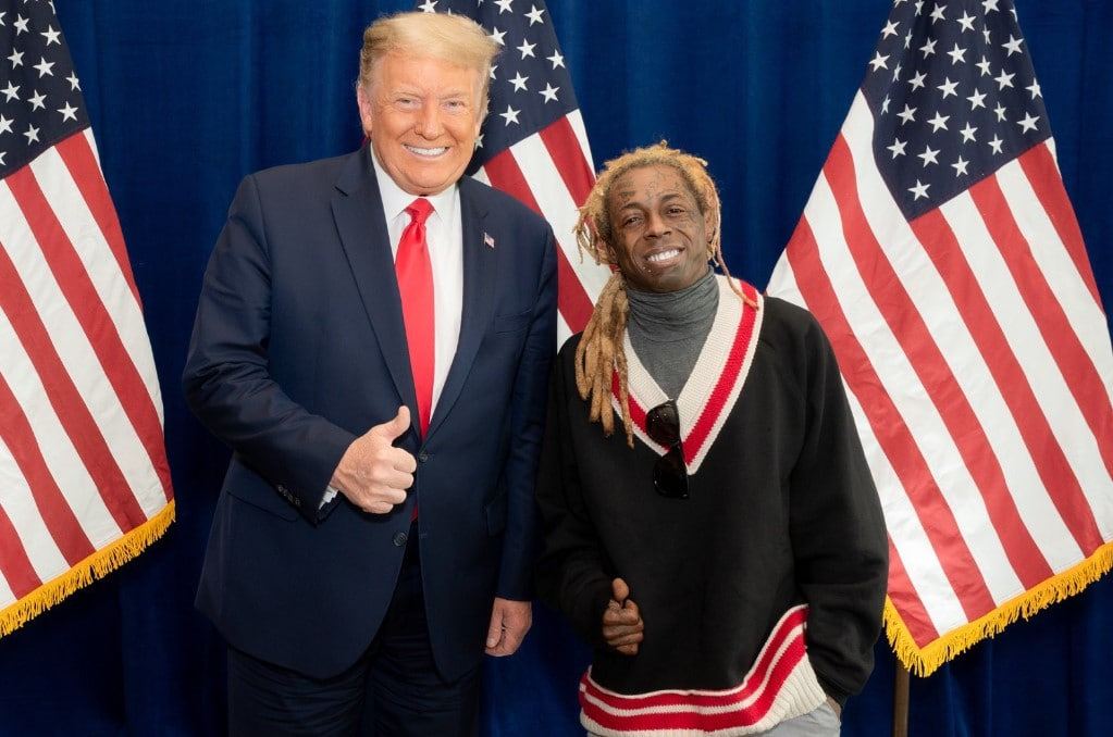 """Rapper Lil Wayne Announces That He Had a """"Great Meeting"""" With Donald Trump"""