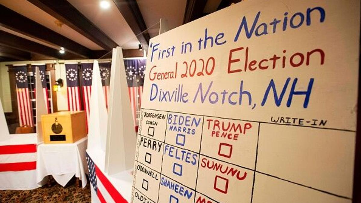 Surprise Results in Traditional New Hampshire 'Midnight Vote'