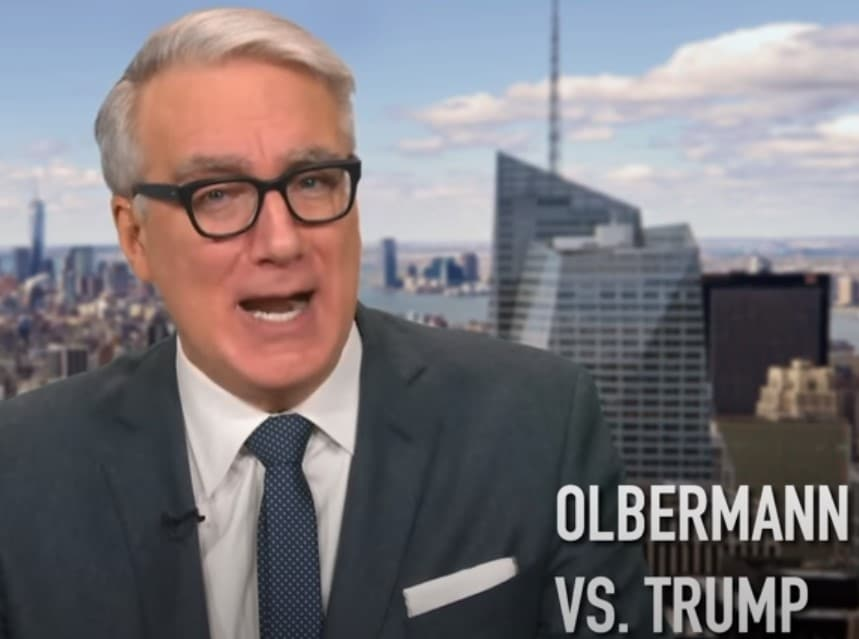 Keith Olbermann: Donald Trump Must Be Removed From Office and Arrested Tonight