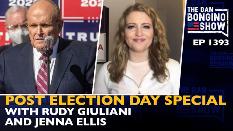 Ep. 1393 Post Election Day Special with Rudy Giuliani and Jenna Ellis