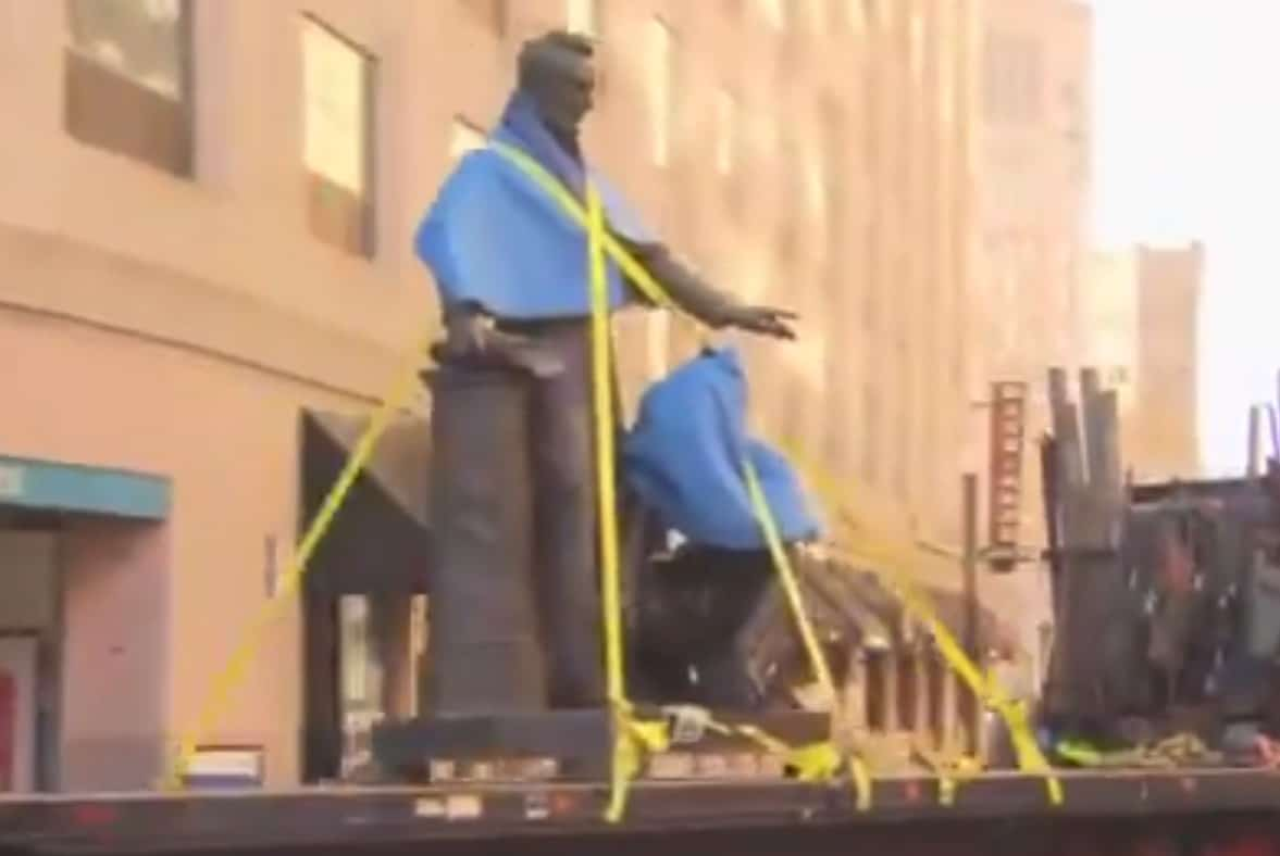 Boston Leaders Remove Statue of Lincoln Celebrating Emancipation of Slaves