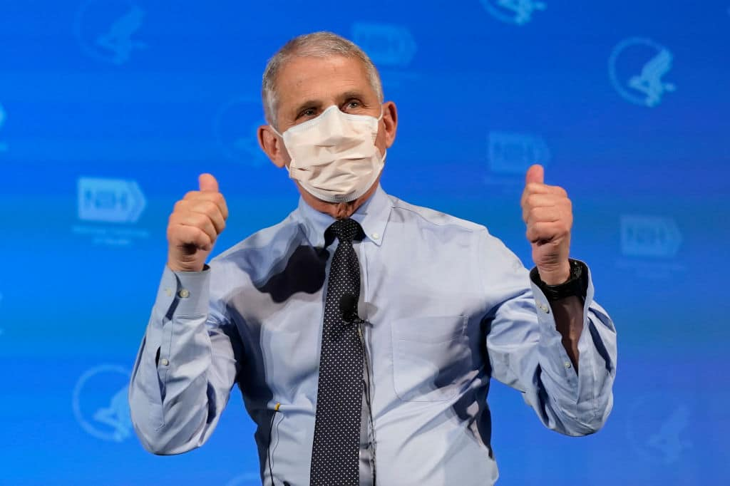"Fauci Flip Flops on Masks Again, Now Says There Is ""No Data"" to Support Double Masking"