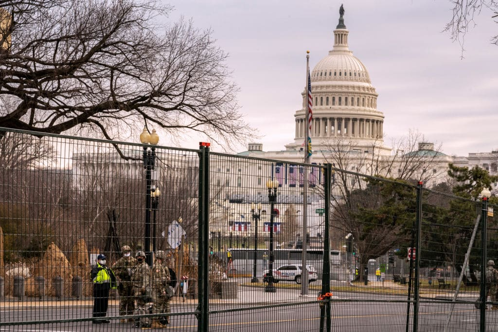 Dems Push Bill to Establish Permanent Fencing Outside Capitol After Four Years of Saying Walls Don't Work