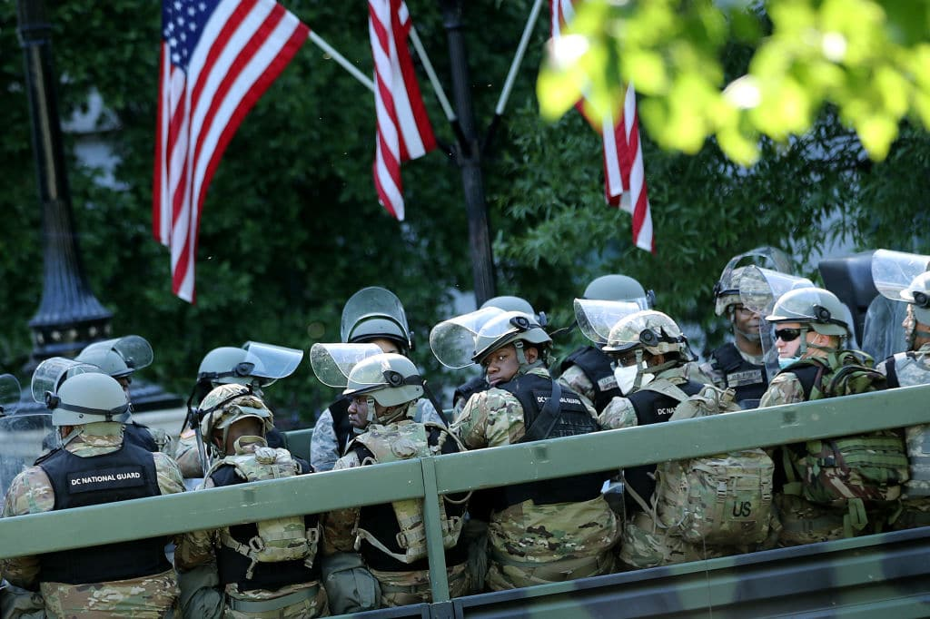 D.C. National Guard to Be Mobilized for 30 Days