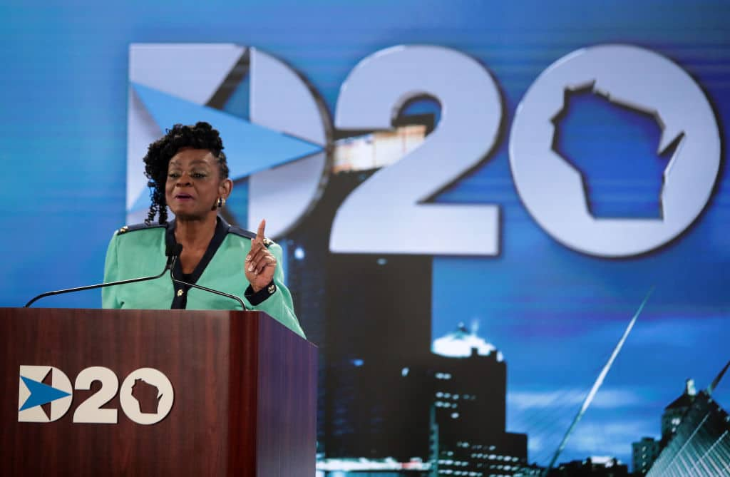 Democrat Rep. Gwen Moore Travels to Washington to Vote Days After Testing Positive for COVID-19