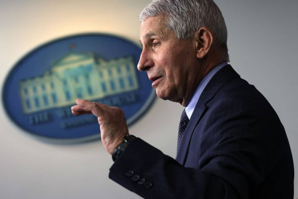 Report Reveals Dr. Fauci Was Highest Paid Employee in Entire Federal Government in 2019
