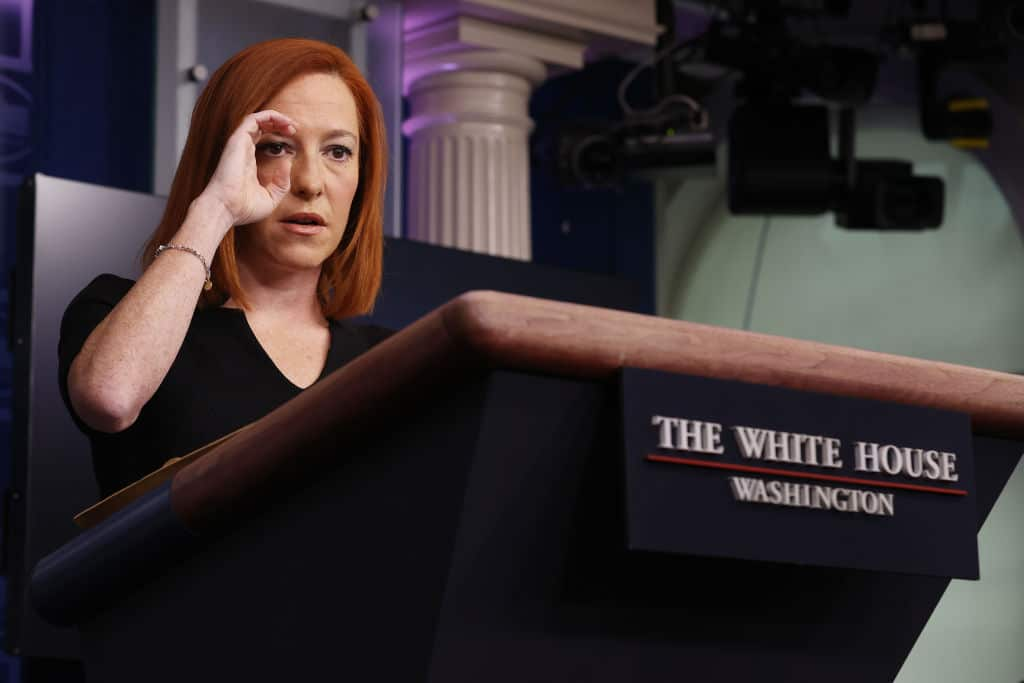 Report: Biden Staff Prescreening Jen Psaki's Press Briefing Questions