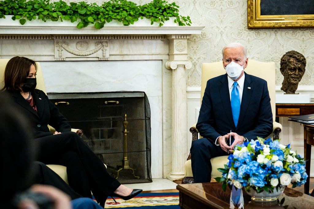 Biden Wants People Wearing Masks Until At Least 2022