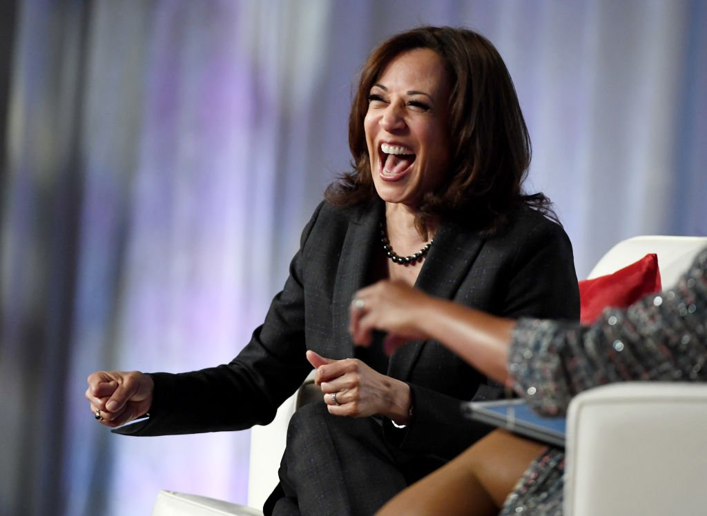Kamala Laughs Maniacally While Talking About Parents Who Can't Send Kids to School