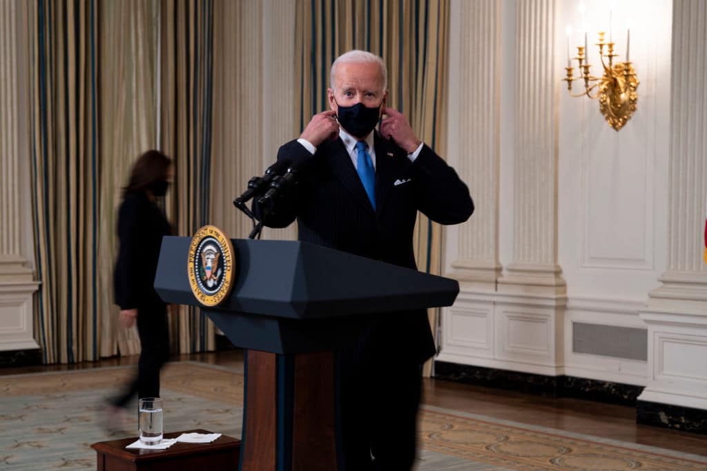 "Biden Says Texas and Mississippi Are Guilty of ""Neanderthal Thinking"" for Opening Economies"