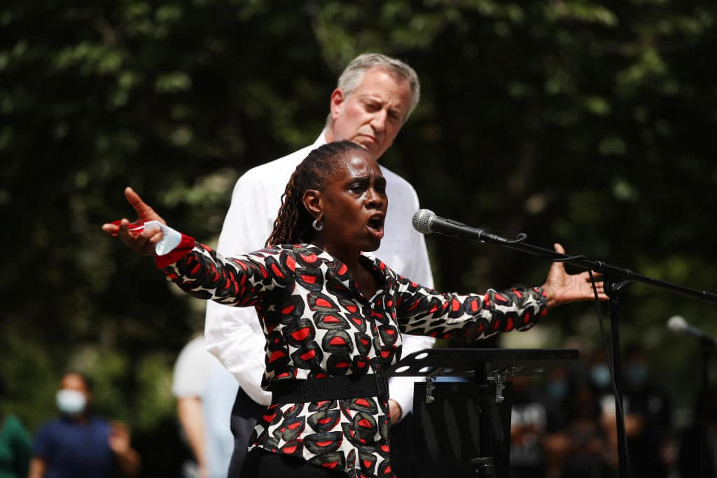 After Defunding the Police, NYC First Lady Begs Citizens to Intervene in Violent Crimes